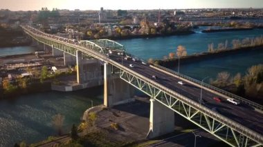 Montreal Jacques-Cartier Bridge — Wideo stockowe
