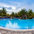 Pool Panorama of Melia Las Duna Hotel resort — Stock Photo #67124021