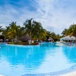 Pool Panorama of Melia Las Duna Hotel resort — Stock Photo #67124091