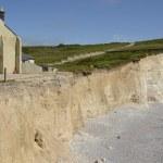 Chalk Cliffs in Sussex. England — Stock Photo #52163915