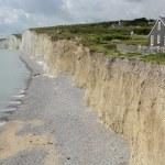 Chalk Cliffs in Sussex. England — Stock Photo #52164045