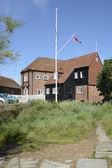 Sailing clubhouse at Bosham. Sussex. England — Stock Photo