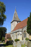 Holy Trinity Church. Bosham. Sussex. England — Stock Photo