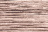 Old wall from wooden logs of brown color — Stock Photo
