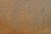 Texture old leather with a stamping of brown color — Stock Photo