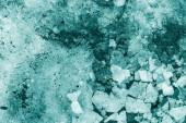Pieces of snow and ice indigo color — Stock Photo