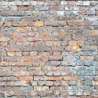 Wall from an old clay brick — Stock Photo #69789349