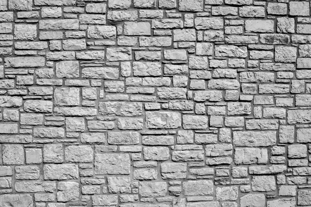 Muro de ladrillo de color gris piedra foto de stock - Ladrillos de colores ...