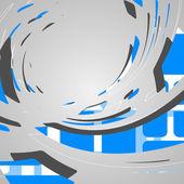 Abstact futurista — Vector de stock