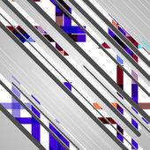 Abstraktní futuristické tvary — Stock vektor