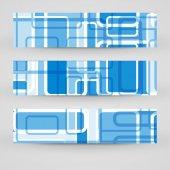 Vektorové banner pro váš design — Stock vektor