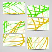 Vector business-card  set for your design — Stock Vector