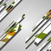 Astratti geometrici futuristici — Vettoriale Stock