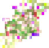 абстрактный фон, состоящий из прямоугольников — Cтоковый вектор