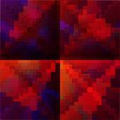 Abstrait composé de rectangles — Vecteur