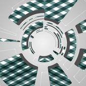 Antecedentes para el diseño de tecnología futurista — Vector de stock
