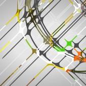 Abstrakt cirklar bakgrund — Stockvektor