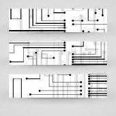 Баннер Векторный набор для вашего дизайна — Cтоковый вектор