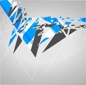абстрактный футуристический фон — Cтоковый вектор