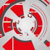 未来派科技设计的抽象背景 — 图库矢量图片