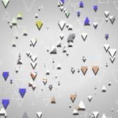 абстрактные геометрические фигуры — Cтоковый вектор