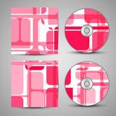 Vektor cd-omslag för din design — Stockvektor