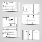Vector business-card  set for your design — Stockvektor