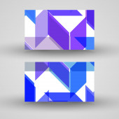 Vector business-card  set for your design — Stock vektor