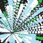 Abstrakten bunten Rahmen der Kreise — Stockvektor