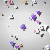 Abstracte geometrische vormen — Stockvector