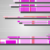 Abstracte futuristische geometrische vormen — Stockvector