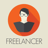 Freelancer avatar icon — Stockvektor