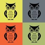 Cute vector owl — Stock Vector #73479357