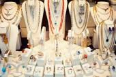 Jewelry Store Display — Stock Photo