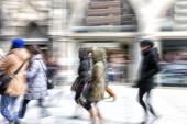 Rush hour in the city — Stock Photo