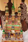 Traditional Hand Made Christmas Nativities, Krakow, Poland — Foto de Stock