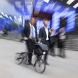 Motion Blurred Commuters — Stock Photo #63665015