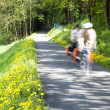 People cycling through countryside — Stock Photo #64296477
