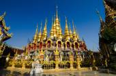 The pagoda Buddha sukhothai Thailand. — Foto de Stock
