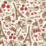 Paris vintage background — Stock Vector #52156167