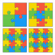 Puzzles — Stock Vector #52169215