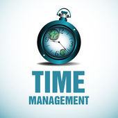 Time management — Stock Vector