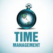 тайм-менеджмент — Cтоковый вектор