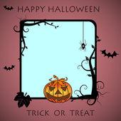 Halloween frame — Stock Vector