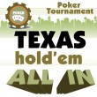 Texas Holdem poker tournament — Stock Vector #55257415