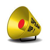 Speak up — Stock Vector
