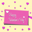 Valentine's Day Card — Stock Vector #61129859