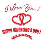 Happy Valentine's Day — Stock Vector #61576805