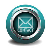 Blue contact button — Stock Vector
