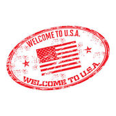 Welcome to USA — Stock Vector